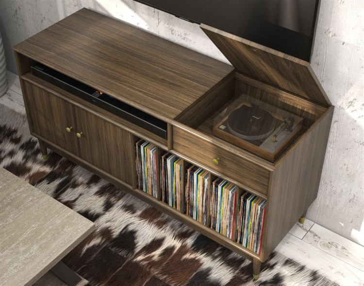 Furnishing The Vinyl Record Revival