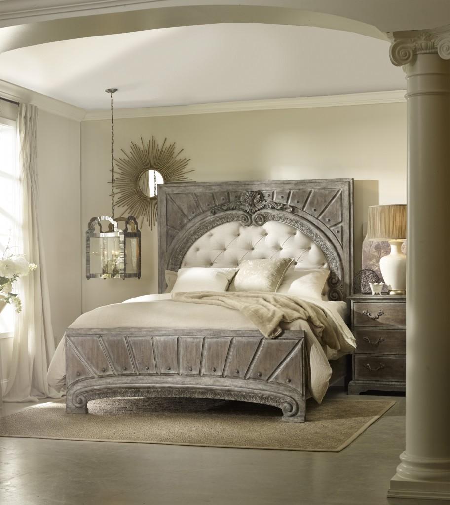 Feminine Bedroom Designs Dark Navy: Feminine Vintage Meets Masculine Vintage