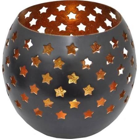 star cutout votive home decorators